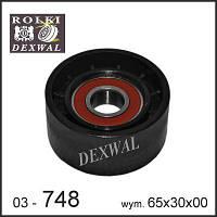 Ролик натяжной поликлинового ручейкового ремня отдельно FORD TRANSIT 2.4 TDCI 06- 17x65x30