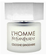 Мужская туалетная вода оригинал Yves Saint Laurent L'Homme Cologne Gingembre 100 ml тестер NNR ORGAP /5-54