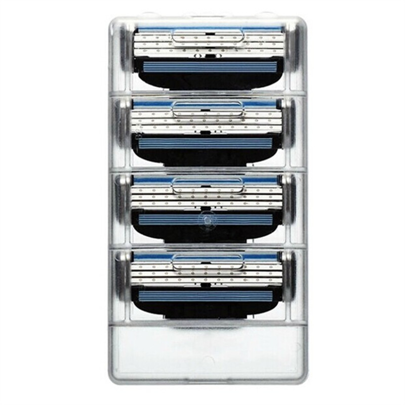Cменные лезвия для станка Gillette Mach 3. Сменные кассеты для бритья Джилет Мак3