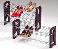 "Полиця для взуття ""SR-0606-3"", 3-ярусна., фото 1"