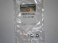 Уплотнительные кольца впускной масленой трубки турбины на Renault Trafic 2001...Renault(оригинал),7701471140