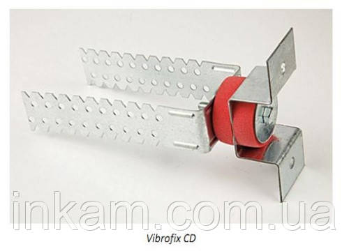 Звукоизоляционное крепление Vibrofix CD звукоизоляция стен