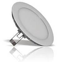 Светильник потолочный встраиваемый Led 9Вт круг 6500 К светодиодный, фото 1