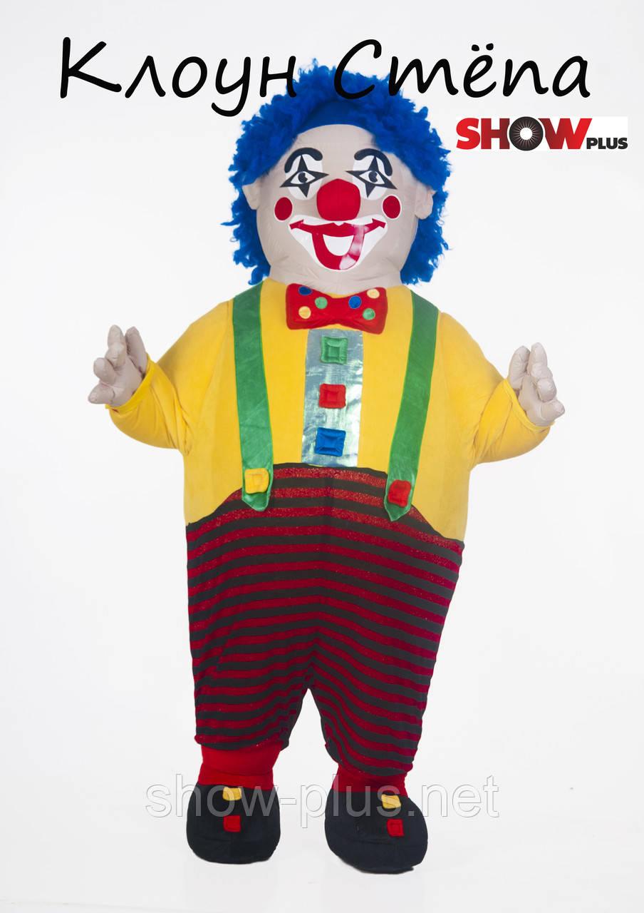 Надувной костюм (пневмокостюм) Клоун Стёпа