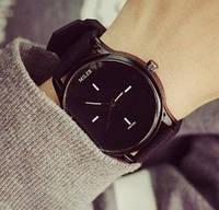 Кварцевые часы Miler (black) - гарантия 6 месяцев