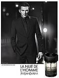 Мужская туалетная вода оригинал Yves Saint Laurent L'Homme La Nuit 100 ml NNR ORGAP /05-35, фото 3