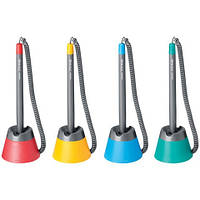 Ручки шариковые на подставке