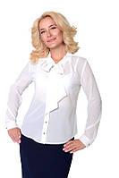 Белоснежная женская блуза