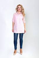Блуза-туника Кристал из органзы