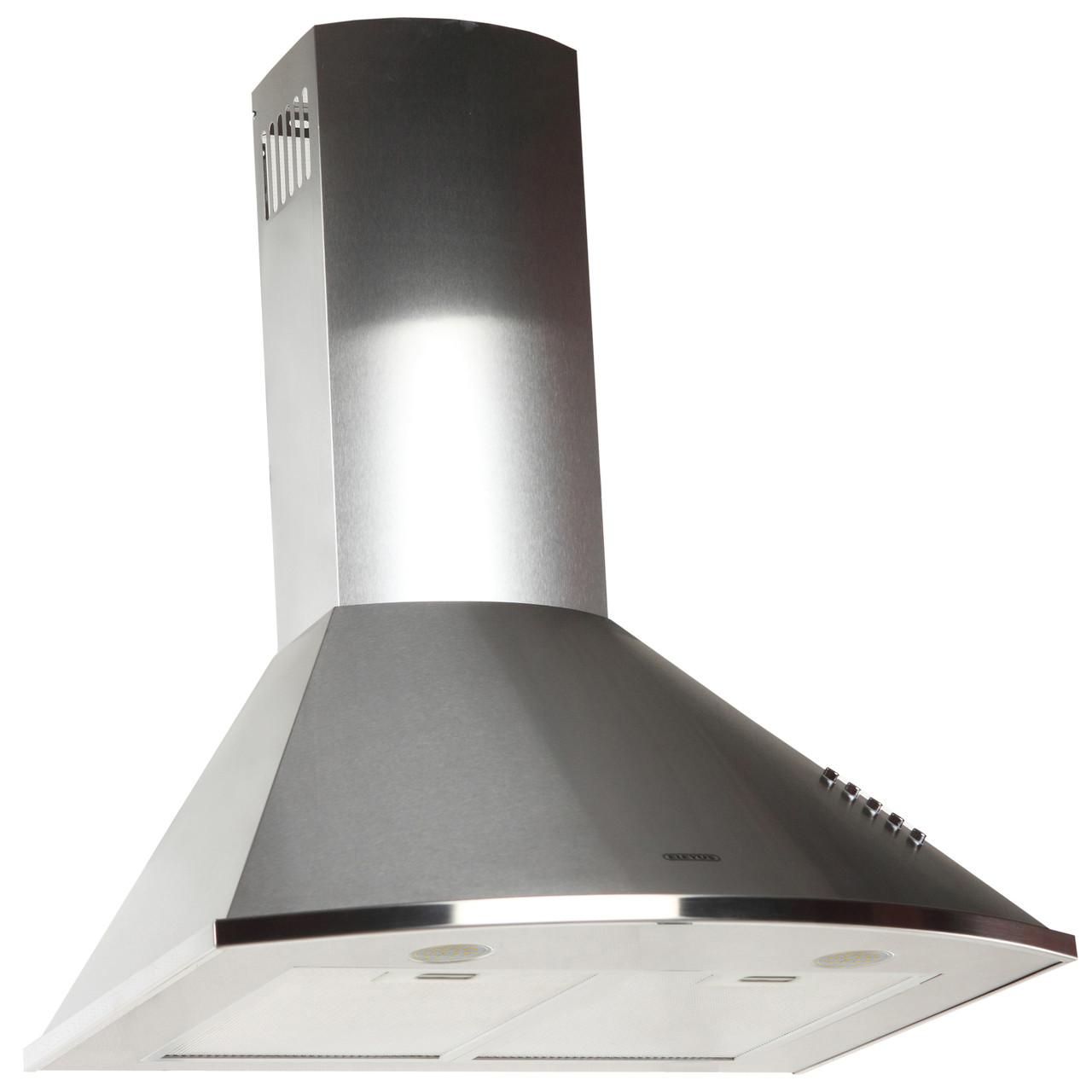 Витяжка кухонна купольна ELEYUS Bora 1200 LED SMD 60 IS (нержавійка)