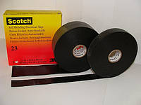 Изолента 3M этилено-пропиленовая резина Scotch 23 «Сырая резина» 19мм x 9.15м универсальная