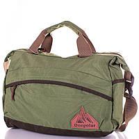 baf3723a8cdf Мужская спортивная сумка через плечо ONEPOLAR (ВАНПОЛАР) W5266-green