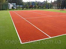 Искусственная трава для теннисного корта Newgrass T6-ITF 20, фото 2