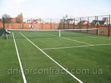 Искусственная трава для теннисного корта Newgrass T6-ITF 20, фото 3