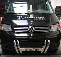 Кенгурятник на Volkswagen Transporter T-5 (c 2004--) Фольксваген Т5 PRS