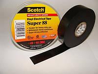 Изолента 3M всепогодная поливинилхлоридная Scotch™ Super 88 (19 mm x 20,1 m x 0,215 mm)