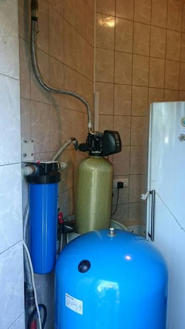 Знакомство с старой системой водоочистки