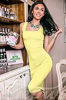 Лаконичное облегающее платье- 3 цвета.