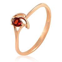 Золотое кольцо с гранатом ., фото 1