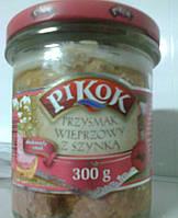 Тушенка Pikok свинна ж/б 300г
