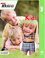 Детские подросток боксёры х/б Indena от 7 до 15 лет IN-35507 ТДБ-2931