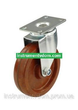 Колесо 4093-100 с поворотным кронштейном (диаметр 100 мм)