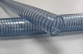 """Шланг из ПВХ с армированной стальной спиралью типа """"Вайр Фуд"""" д.32 мм"""
