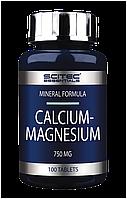 Витамины Calcium - Magnesium Scitec Nutrition (100 tab)