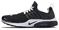 Мужские кроссовки Nike Air Presto BR Black White, найк престо