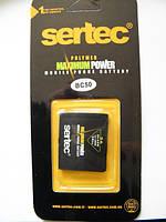 Аккумулятор для motorola bc 50 C257, C261, K1, L2, L6, L7, L9, V3x, Z3, Z6, ZN200 Sertec