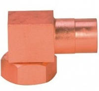 Угловой адаптор типа Rotalock омеднённый под пайку SAW-XMO/80301R Elbow RTL