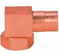 Угловой адаптор типа Rotalock омеднённый под пайку 40308R Elbow RTL