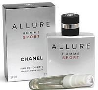 Духи мужские Chanel - Allure Homme Sport, Тестер 22мл