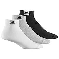 Комплект носков 3 в 1 adidas Ankle Plain Thin 3pp (Артикул: Z25924)