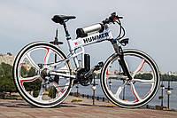 Электровелосипед Hummer Electrobike Foldable Белый Складной