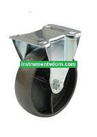 Колесо 4053-125 с неповоротным кронштейном (диаметр 125 мм)