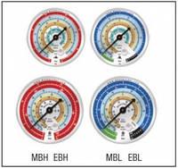 Манометр высокого давления для фреонов: R-22, 407c, 410a  Mastercool EBH