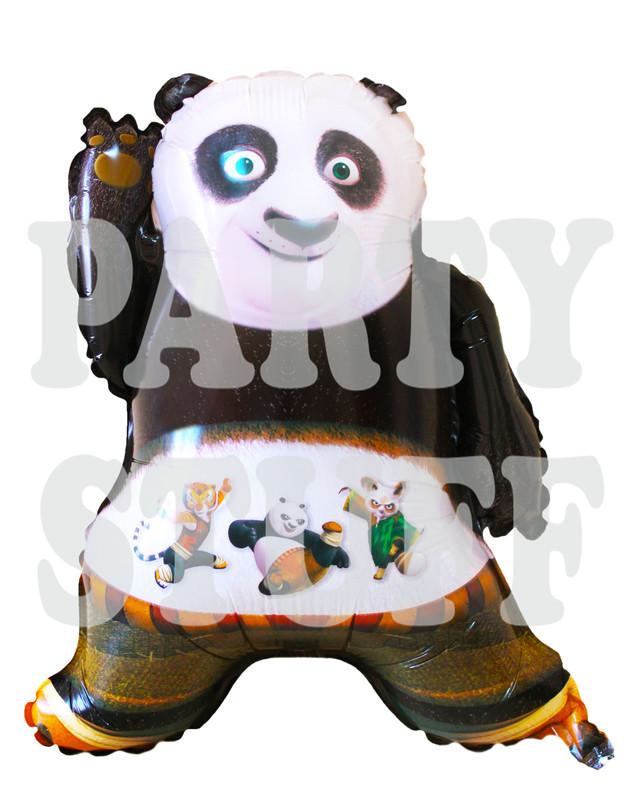 шар фигура панда кунг-фу