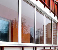 Раздвижные алюминиевые окна на балкон и лоджию