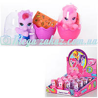 """Игровой набор лошадок в яйце """"Пони"""" (аналог My little Pony): 16 пони, 2 цвета"""