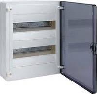 Щит наружной установки с прозрачной дверью 24 модуля Hager GOLF VS212TD