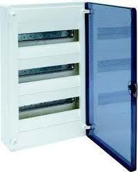 Щит зовнішньої установки з прозорими дверима 36 модулів Hager GOLF VS312TD