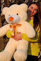 Мишка плюшевый Тедди кремовый 120 см