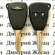 Ключ для Chrysler (Крайслер) 2 кнопки, с чипом ID43, с частотой 433 MHz