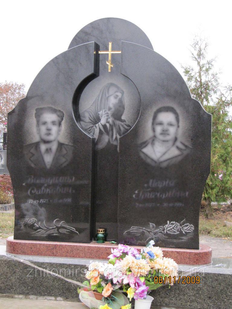 Подвійний пам'ятник фото 12