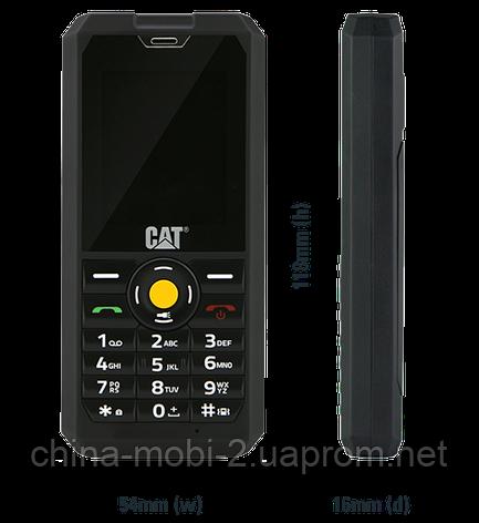 Телефон Caterpillar CAT B30 Duos Black  IP67 , фото 2