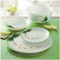 Столовый сервиз Luminarc White Orchid 19 предметов