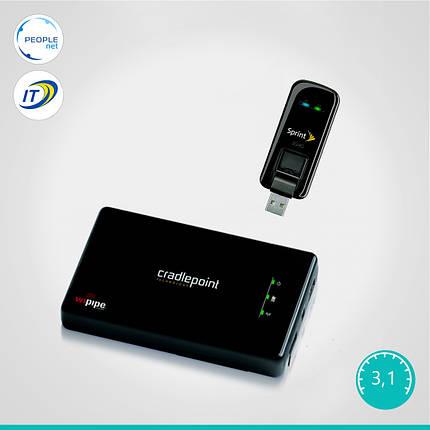 Комплект 3G Интертелеком (Cradlepoint PHS300 + Franklin U600), фото 2