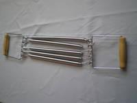 Эспандер плечевой А-9 5 пружин ( L30 см) деревянные ручки