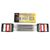 Эспандер плечевой 2 в 1 п.А-8, 5 пружин ( L-26 см ) пластиковые ручки